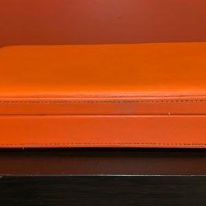 Unknown Bags - Orange Unisex Tall Travel Vintage Briefcase